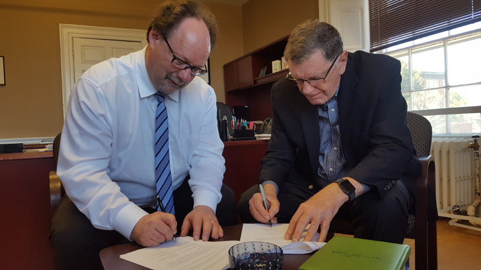 UNB signs MOU with Canada House Wellness Group